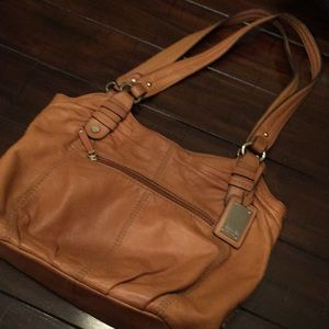 Leather Tignanello bag purse coach MK Camuto